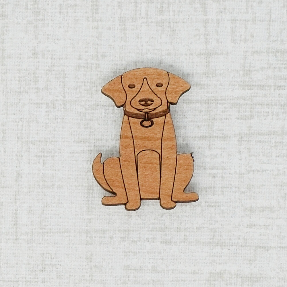 Dark Dog Needle Minder by Joseph's Workshop