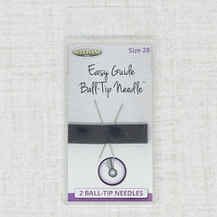 Sullivans easy guide ball-tip size 28 embroidery needles