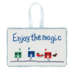 Enjoy the Magic Christmas Cross Stitch Pattern