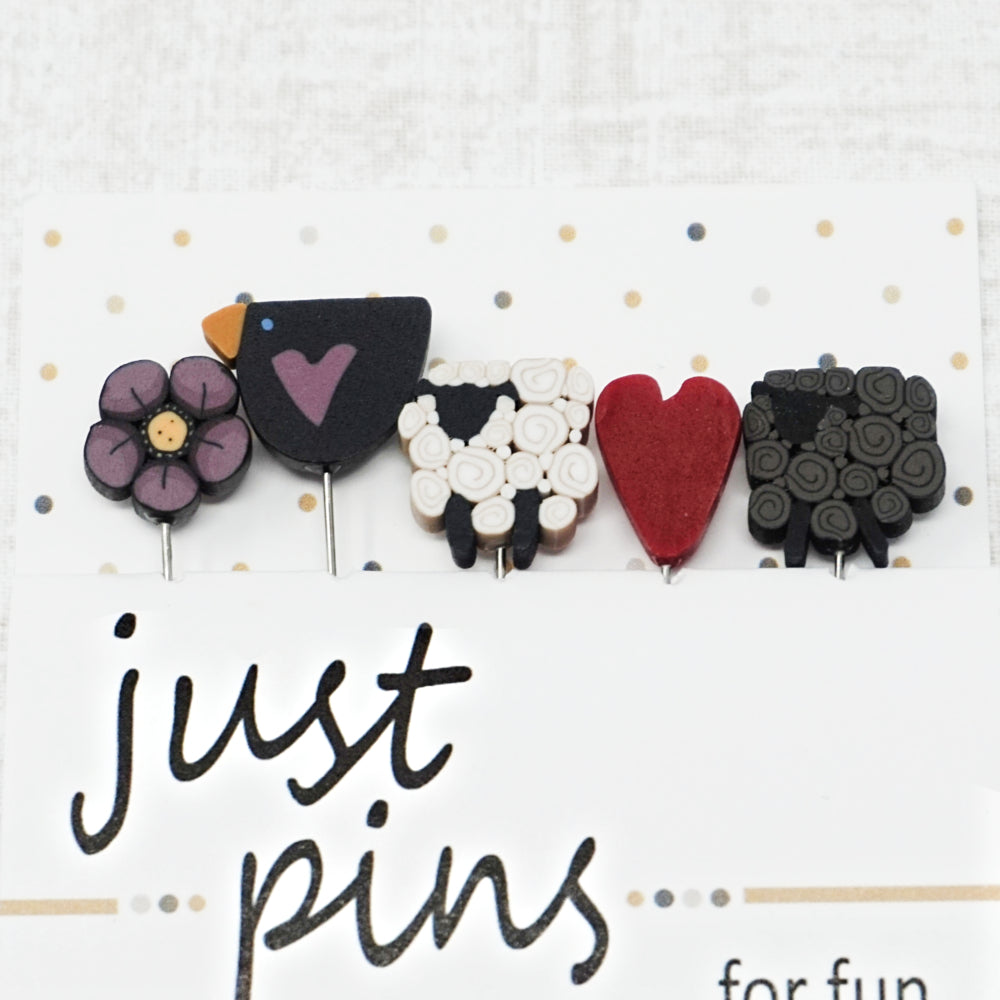 Goodness and Grace - Just Another Button Company Pin Pack