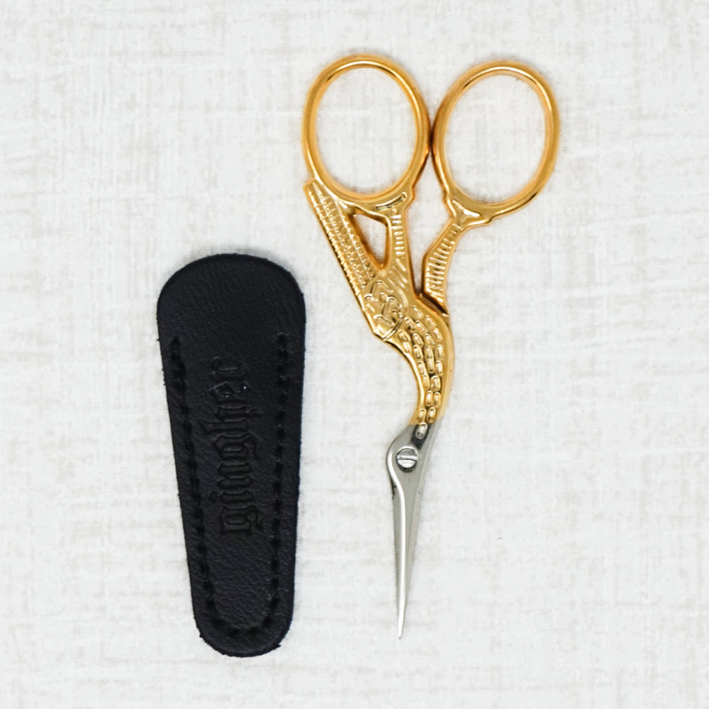 gingher stork embroidery scissors