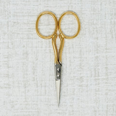 Gold Handled DMC embroidery scissors