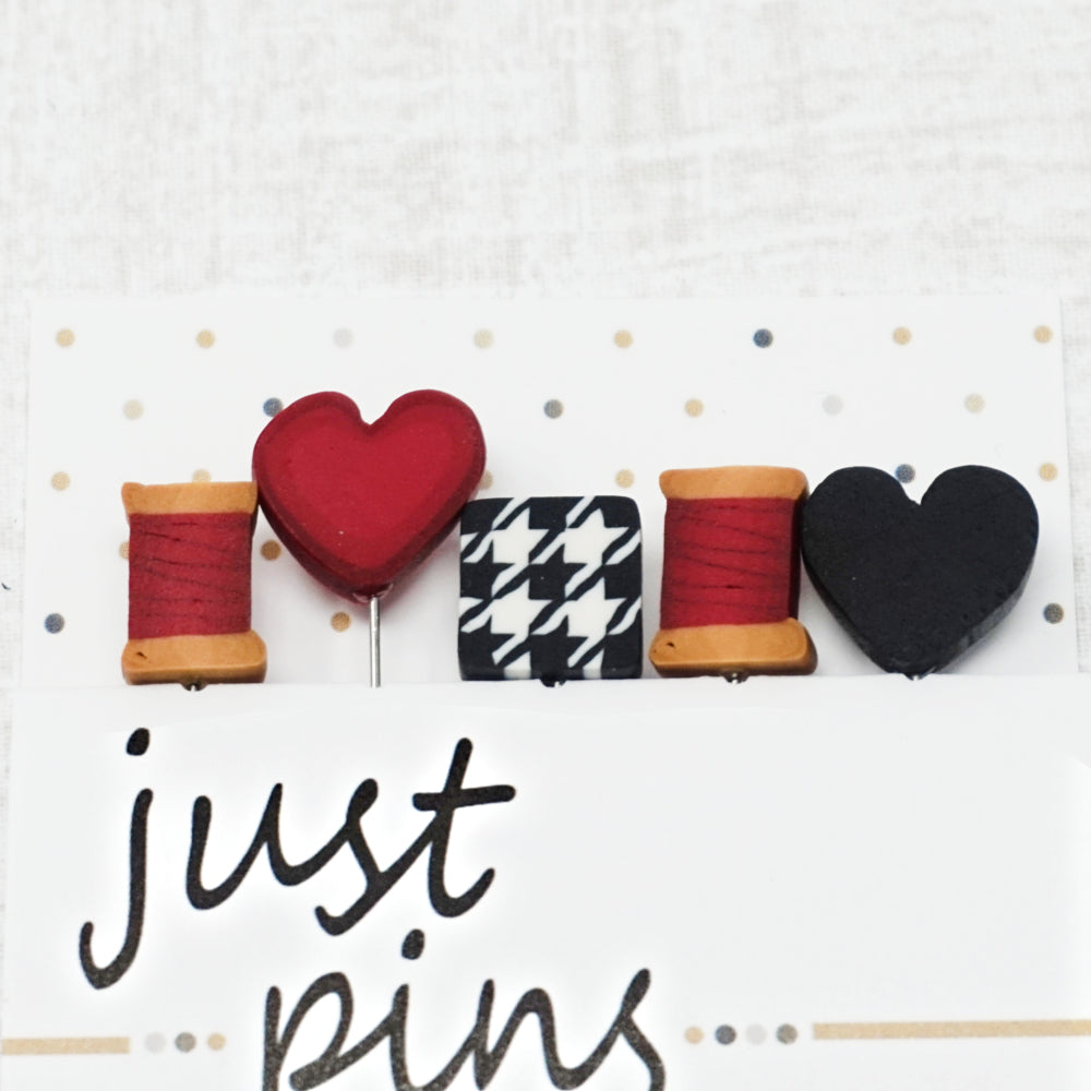 Stitch & Sew Cottage - Just Another Button Company Pin Pack