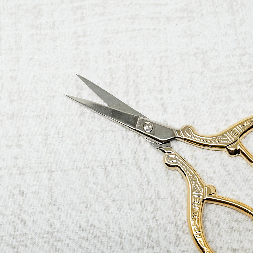Imperial Embroidery Scissors with Gold Handles