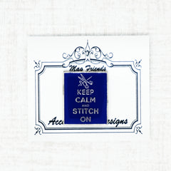 Keep Calm and stitch needle minder by accoutrement designs