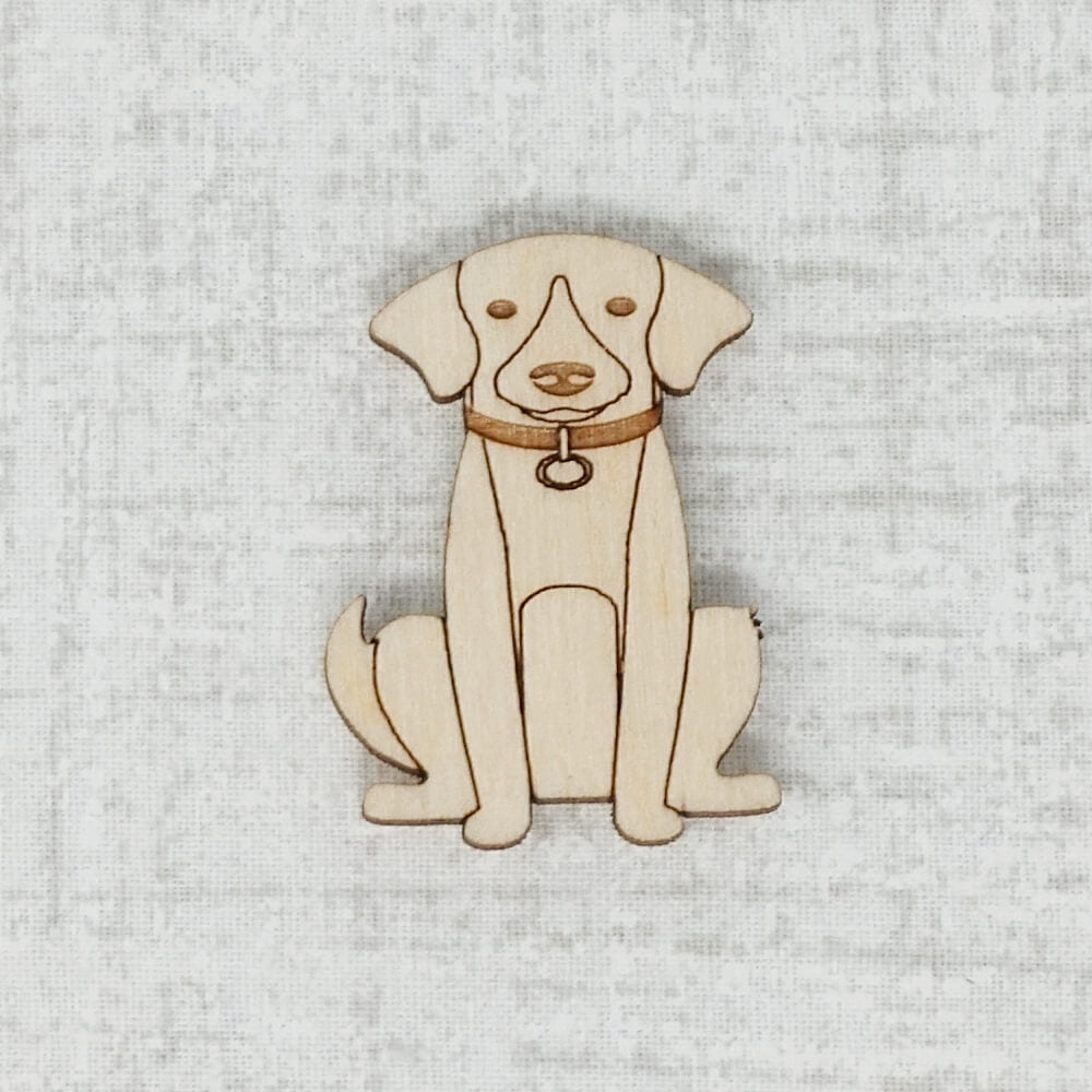 Light Dog Needle Minder by Joseph's Workshop