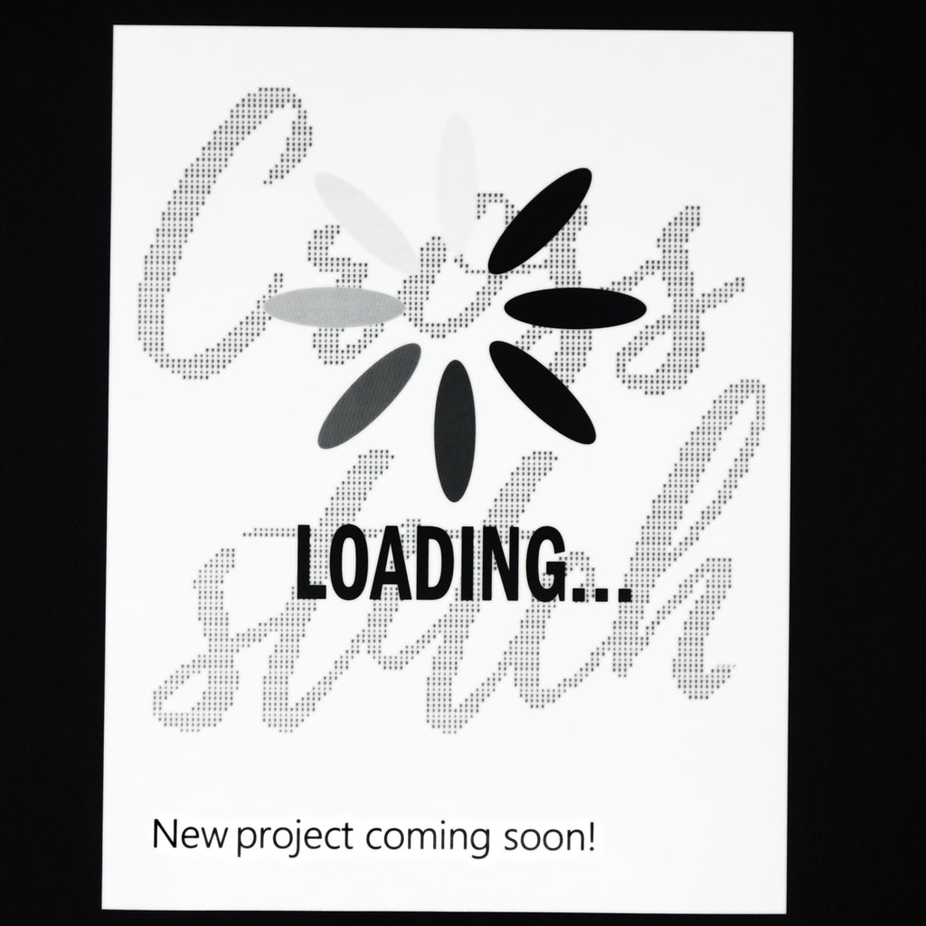 Loading... Cross Stitch Poster