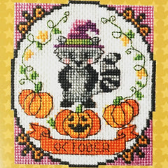 October Cross Stitch Pattern | Tiny Modernist