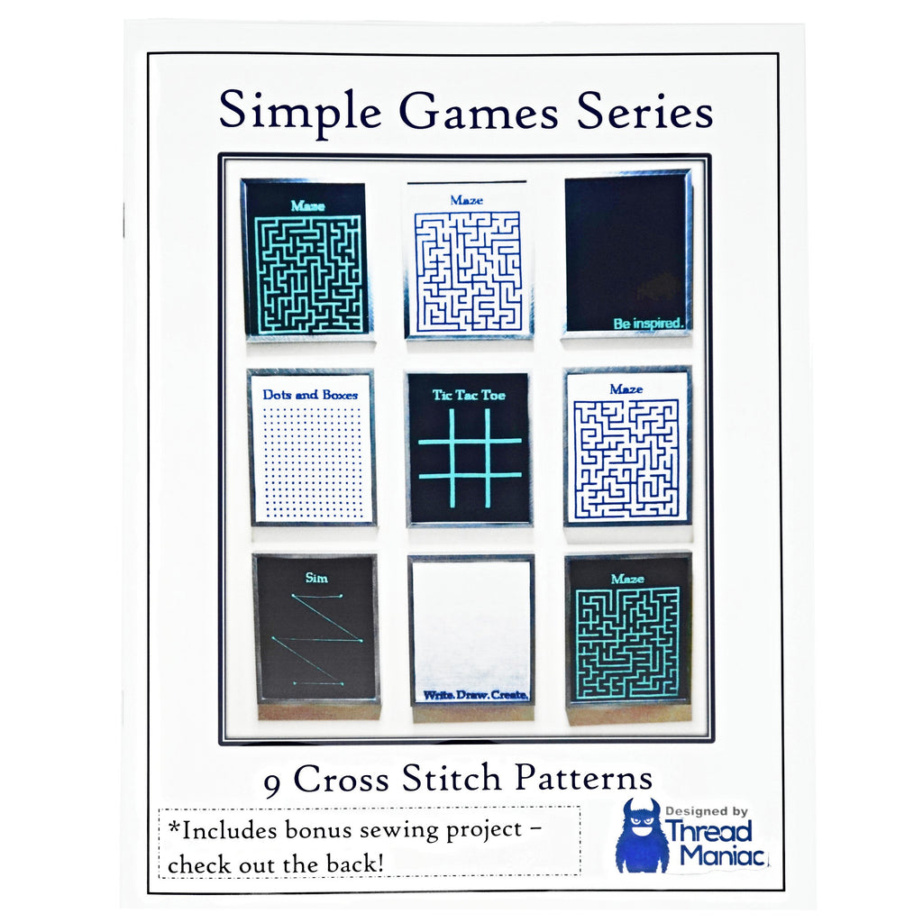 Simple games cross stitch booklet