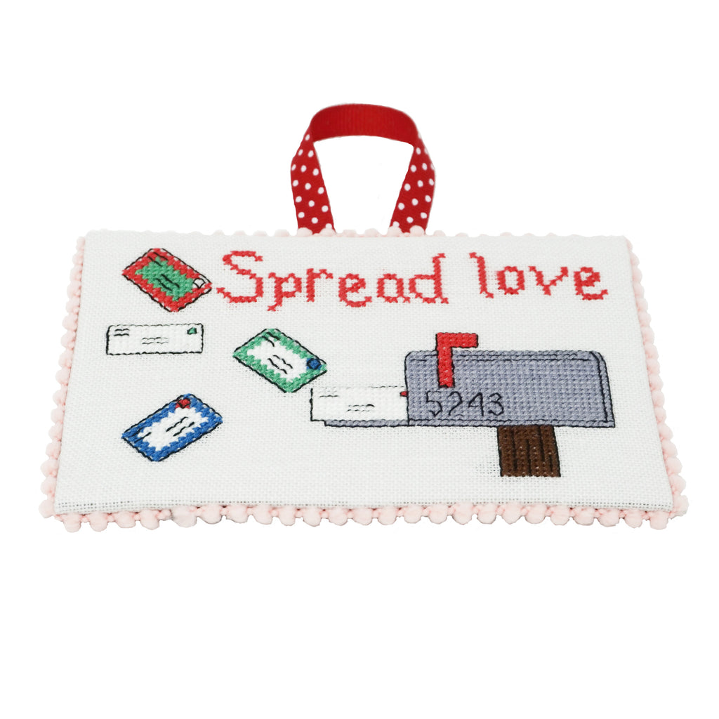 Spread Love Cross Stitch Pattern | Thread Maniac Designs