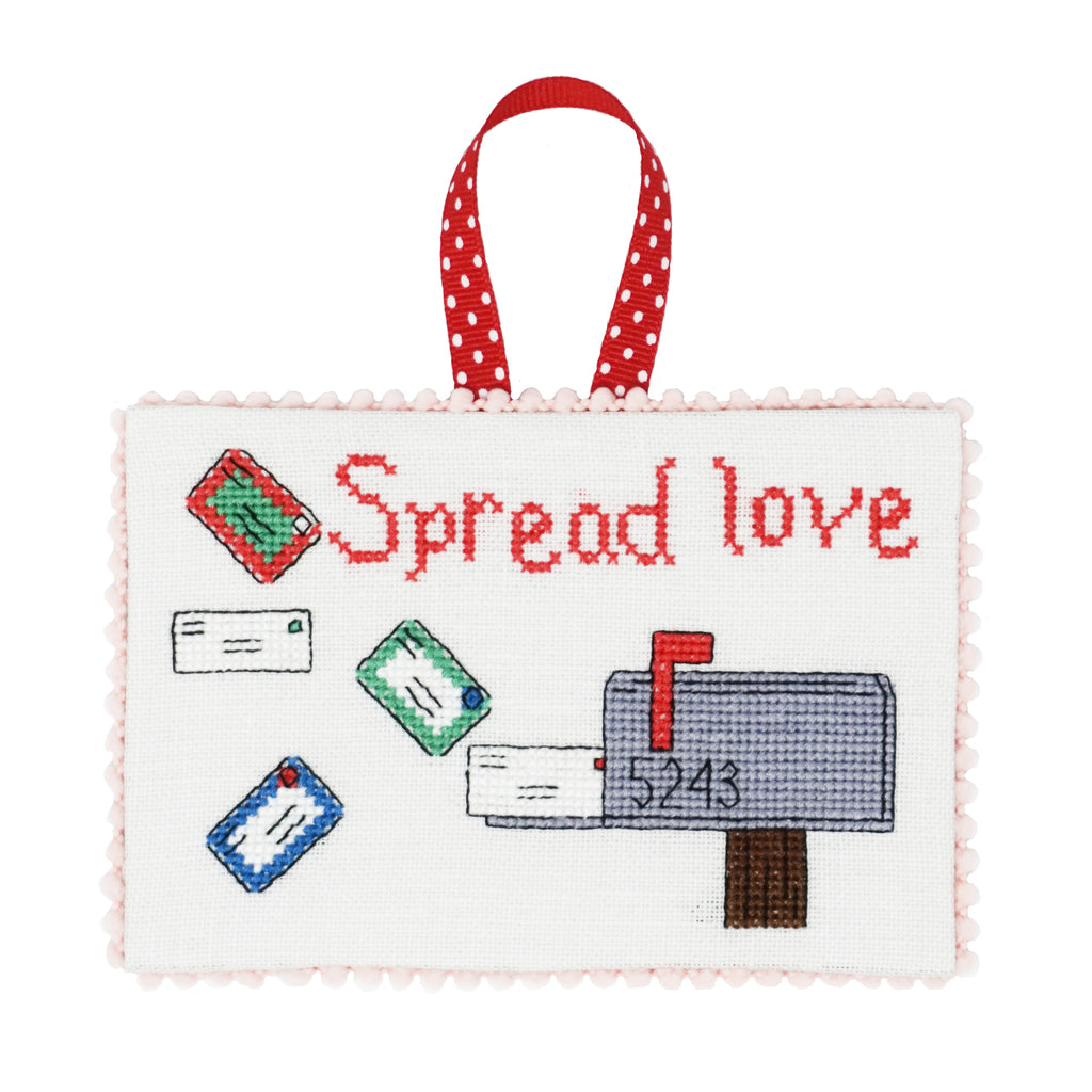 Spread Love Christmas Cross Stitch Pattern