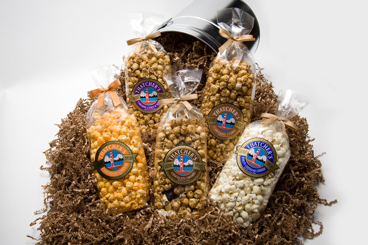 GOURMET POPCORN MADE IN SAN FRANCISCO! DON'T SETTLE BUY GOURMET NOW AVAILABLE ON UBER EATS