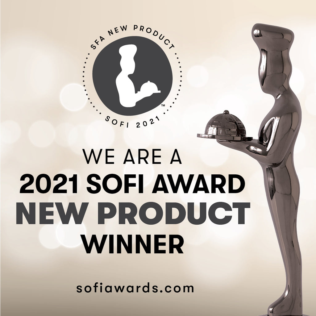 GREAT NEWS! We are a 2021 #sofiawards New Product Winner!