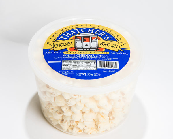 WHITE CHEDDAR CHEESE 5.5oz