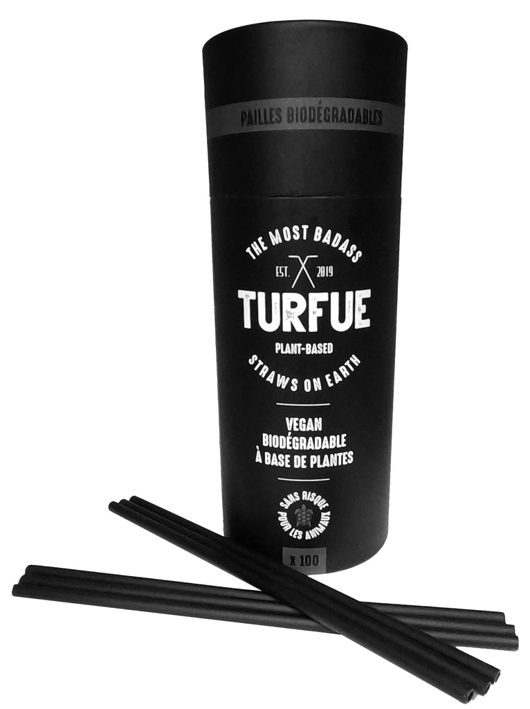 ORDER THE TURFUE BOX WITH 100 STRAWS