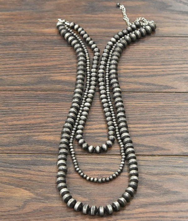 Trace Navajo Pearls Necklace