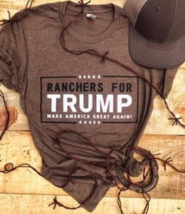 Ranchers For Trump Tee