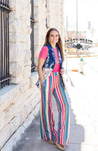 Load image into Gallery viewer, Tandy Wide Leg Serape Pants - Crazy Train