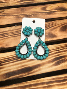 Turquoise Rambler Earrings