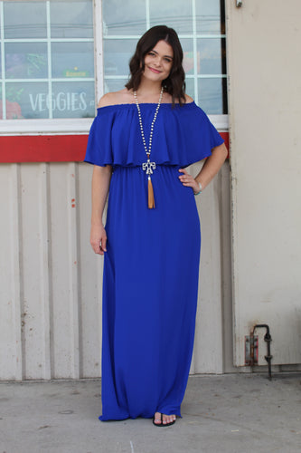 Cosmo Electric Blue Maxi