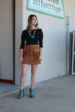 Load image into Gallery viewer, Desert Suede Skirt