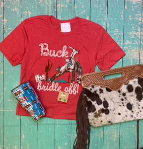 Buck the Bridle Off tee