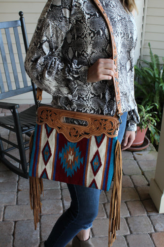 The Ramsey Saddle Blanket Purse
