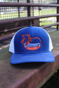 Cattlemen's Hat - UF Blue & Orange