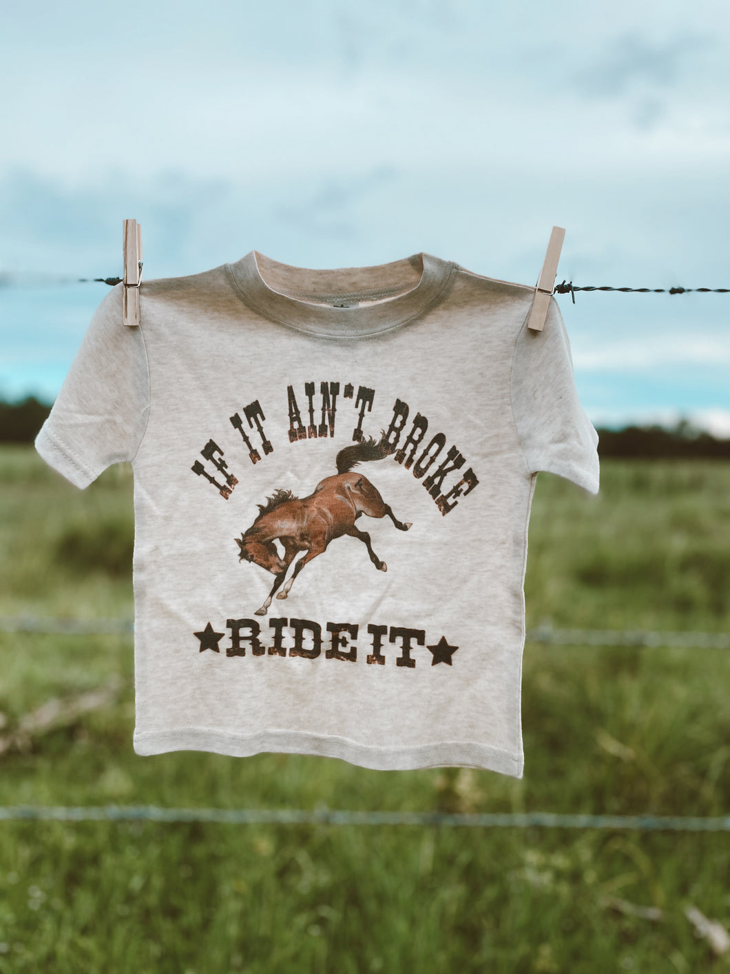 If It Ain't Broke Toddler Tee