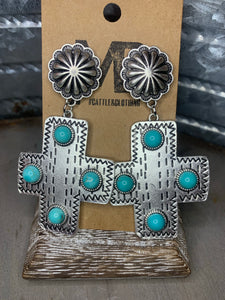 Cross Roads Earrings