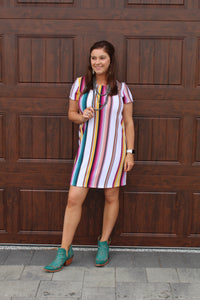Crown Jewel Serape Dress