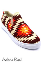 Load image into Gallery viewer, Lil Western Aztec Slip on shoes