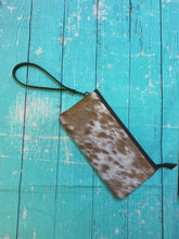 Load image into Gallery viewer, Cowhide Wristlet
