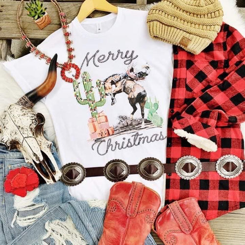 Merry Christmas from the Wild West tee