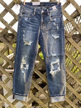 Load image into Gallery viewer, RESTOCKED Bleached Boyfriend Judy Blue Jeans