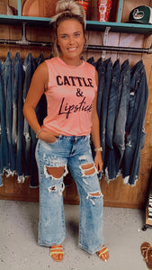 RESTOCKED! Leave Her Wild Flare Jeans