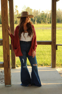 Blush Rust Cardigan