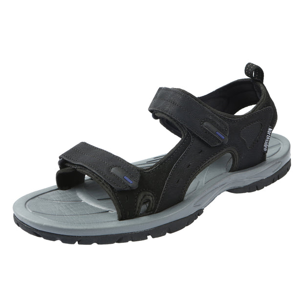 Northside Mens Riverside II Open Toe Sandal - Black/Royal