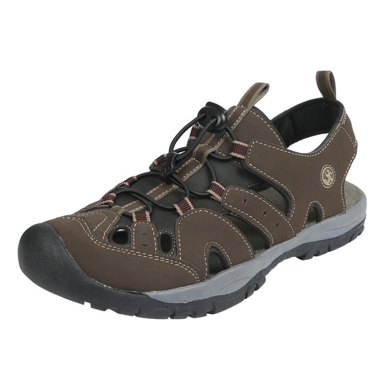 Northside Mens Burke II Athletic Sandal - Dark Brown