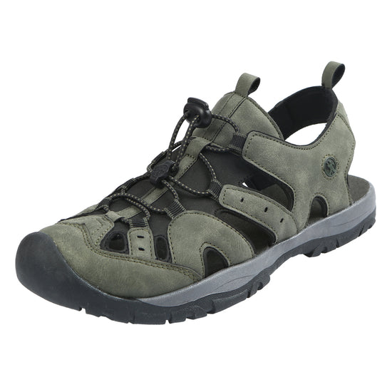 Northside Mens Burke II Athletic Sandal - dark olive