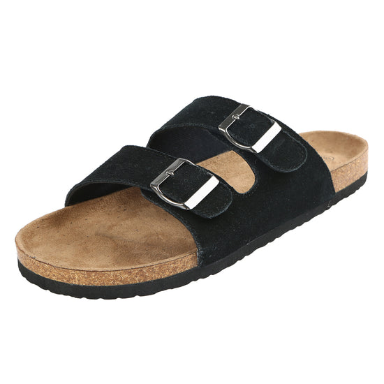Northside Womens Mariani Cork Sandal - Black