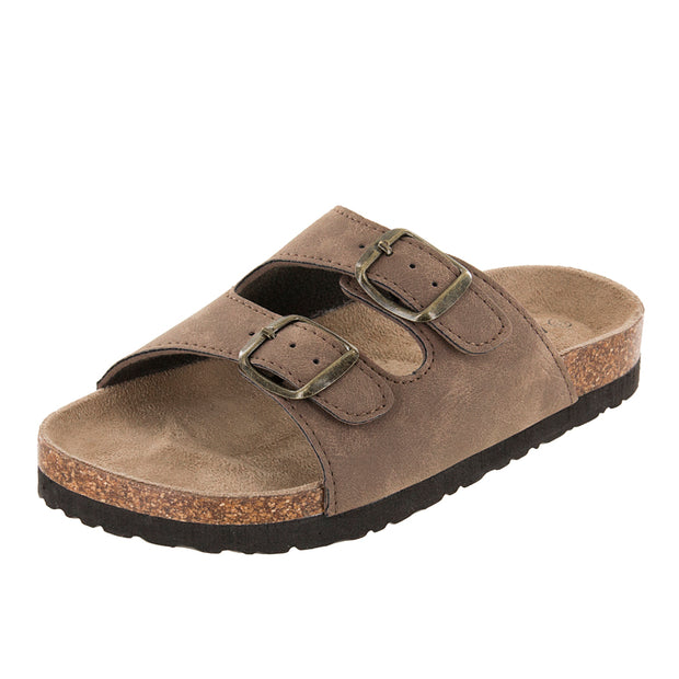 Northside Toddlers Phoenix Cork Sandals - Medium Brown