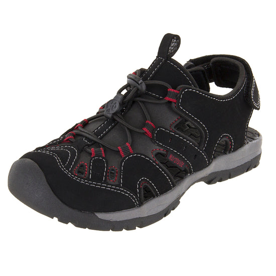 Northside Kids Burke SE Athletic Sandals - Black/Red