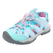 Northside Kids Burke SE Athletic Sandals - Aqua/Pink