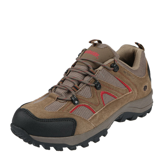 Northside Mens Snohomish Waterproof Low Hiking Shoe - Chili Pepper