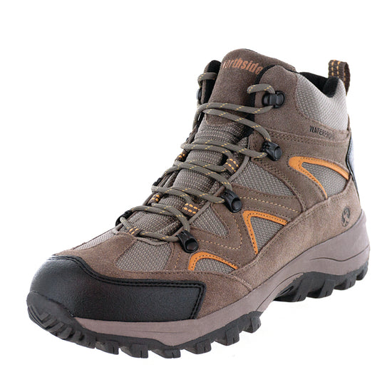 Northside Mens Snohomish Waterproof Hiking Boot - Tan/Dark Honey