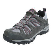 Northside Womens Hillcrest Waterproof Hiking Shoe - Dark Gray/Wine