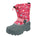 Northside Toddler Frosty Winter Snow Boot - Fuchsia-Coral