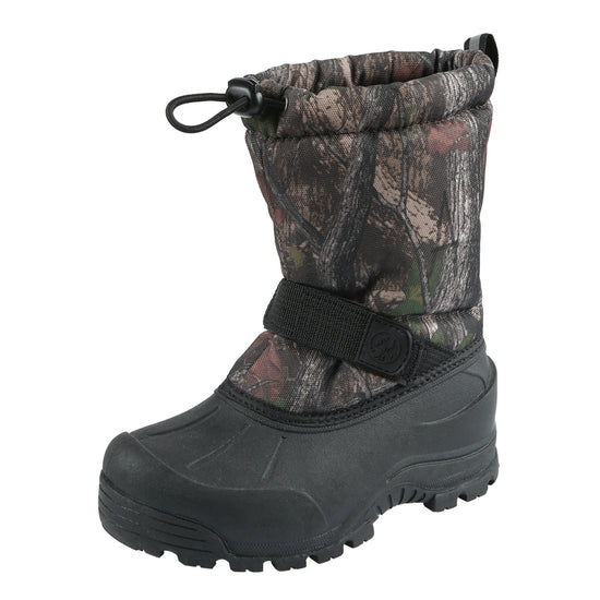 Northside Kids Frosty Winter Snow Boot - Brown Camo