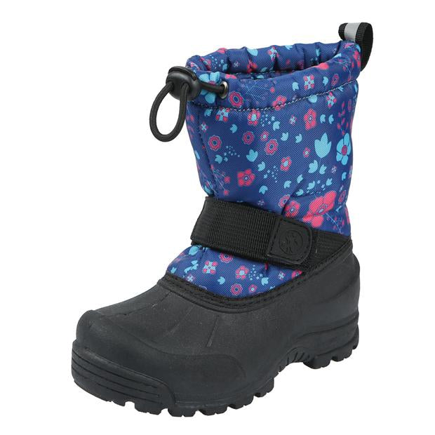 Northside Kids Frosty Winter Snow Boot - Navy/Fuchsia